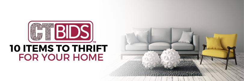10 Items to Thrift for your Home